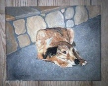Pet Portrait on Canvas