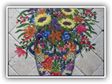 Mexican Flower Urn